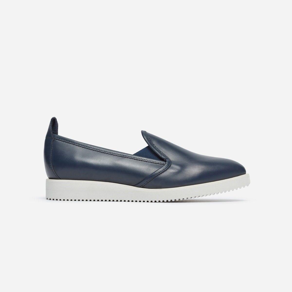Everlane The Pelle Street Shoe Taglia 5 - Navy (brand new)