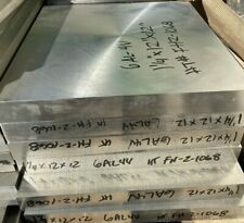 "Titanium Plate 6AL4V 2/"" x 12/"" X .287/"""