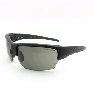 3fd1d0316142 Wiley X CHSAI06 Saint Matte Black Grey Clear Rust New Authentic ...