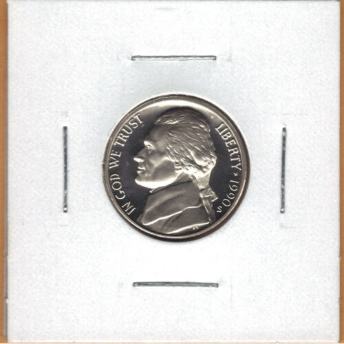 1990-S PROOF JEFFERSON NICKEL