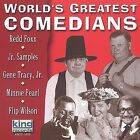 World's Greatest Comedians [2002] by Various Artists (CD, Oct-2001, King)