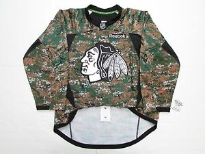 2e2afc63c Image is loading CHICAGO-BLACKHAWKS-AUTHENTIC-MILITARY-CAMO-VETERANS-DAY- REEBOK-