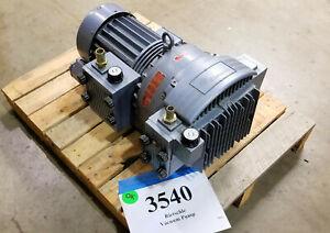 Rietschle-TR61DV-50-42CFM-Vacuum-Pump-200-255-346-440VAC-New-Vanes-Inv-3540