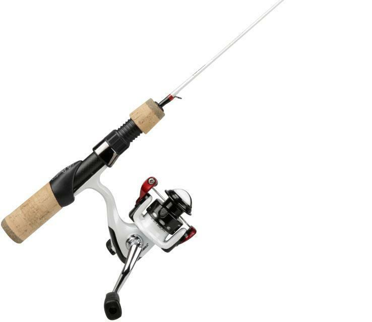 Frabill Ice Hunter 26'' Ice Fishing Rod Reel Combo Ultra Light Action Panfish