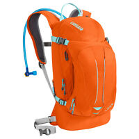 Camelbak L.u.x.e. 100 Oz Hydration Pack Flame/aruba Blue