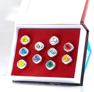 Anime-Naruto-Akatsuki-Member-Metal-Finger-Ring-Jewelry-Cosplay-Gift-Collection