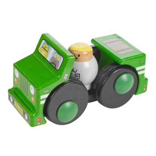 Tumblekins off-roader jouet de bois voiture avec aventure figure Bébé Enfants Cadeau de Noël