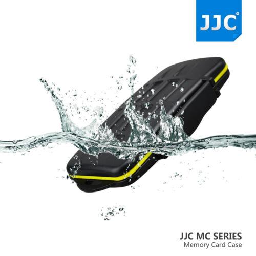 Jjc Resistente al Agua Anti-shock titular de la tarjeta de memoria de almacenamiento caso para 2 Tarjetas Sxs