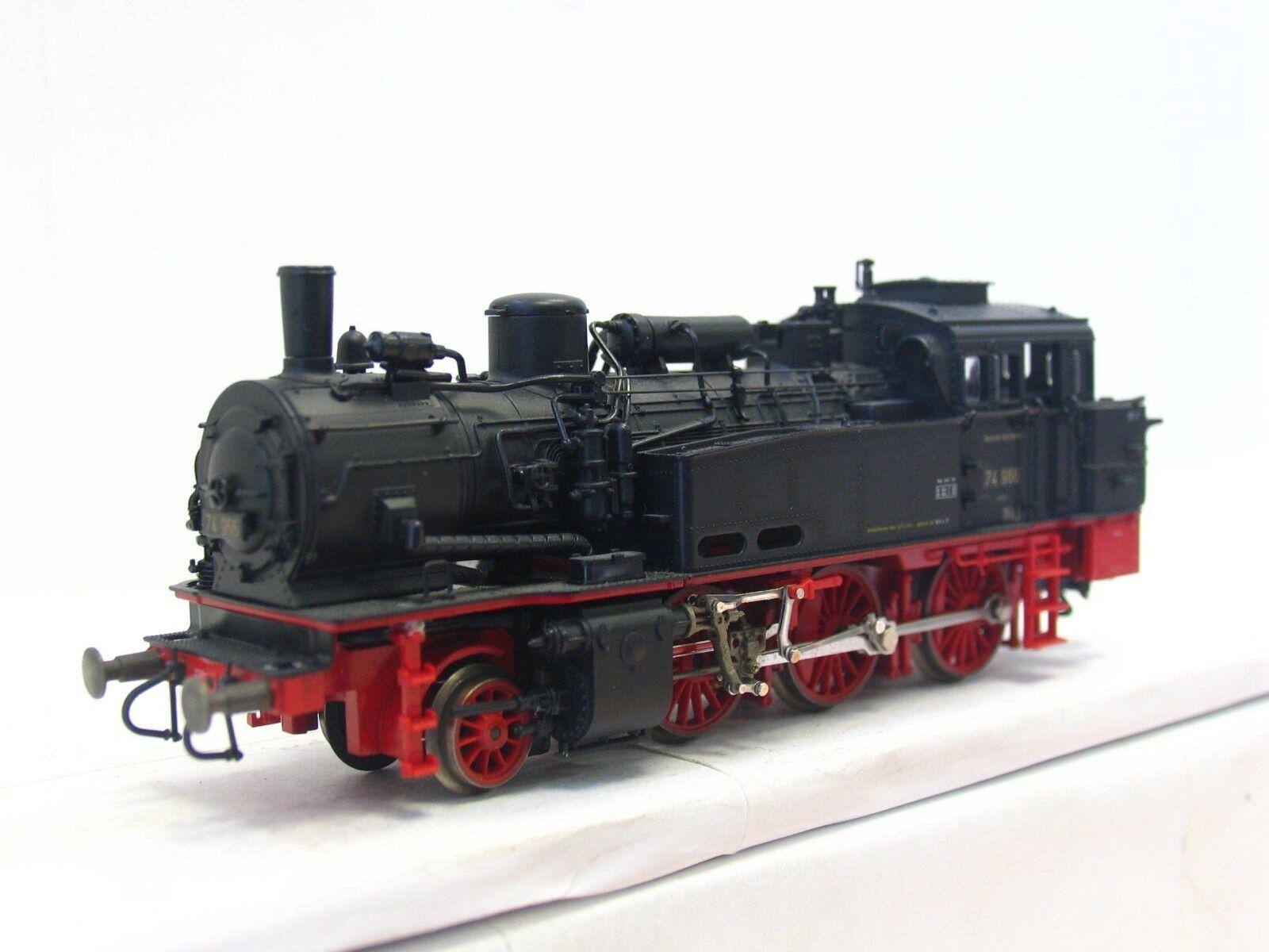 Roco máquina de vapor br 74 966 de la DRG (v1605)