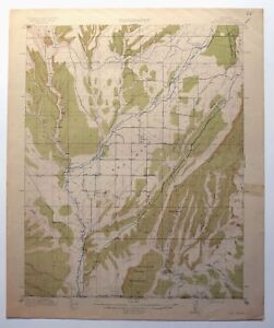 Red Mesa Colorado Antique 1913 Usgs Topo Map Old Fort Lewis Durango