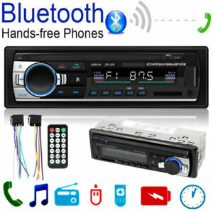 Unique-1DIN-Car-Radio-de-Voiture-Autoradio-Bluetooth-MP3-FM-USB-AUX-Head-Unit