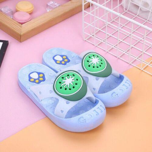 Toddler Children Kids Baby Girls Boys Cute Fruit Paw Beach Slipper Sandals Shoes