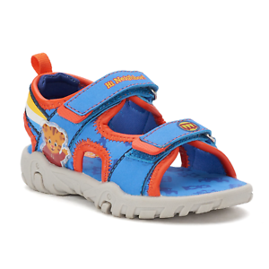 9-10 Blue Marvel Avengers Boys Sandals Slippers Shoes Toddler Size 5-6 7-8