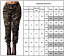 Women-Camoflage-Harem-Army-Cargo-Pant-High-Waist-Sports-Hip-Hop-Long-Trousers-AU