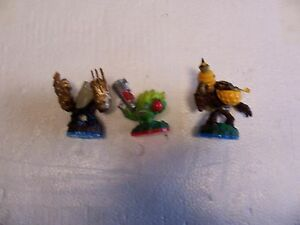 Lot of 3 Skylander Toys (FoodFight And More) Lot #Z8