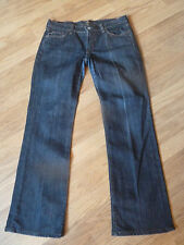 """womens 7 for all mankind bootcut jeans - size 31"""" waist great condition"""