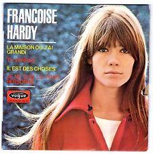FRANÇOISE HARDY - LA MAISON OU J'AI GRANDI (45t  -EP) - 1966