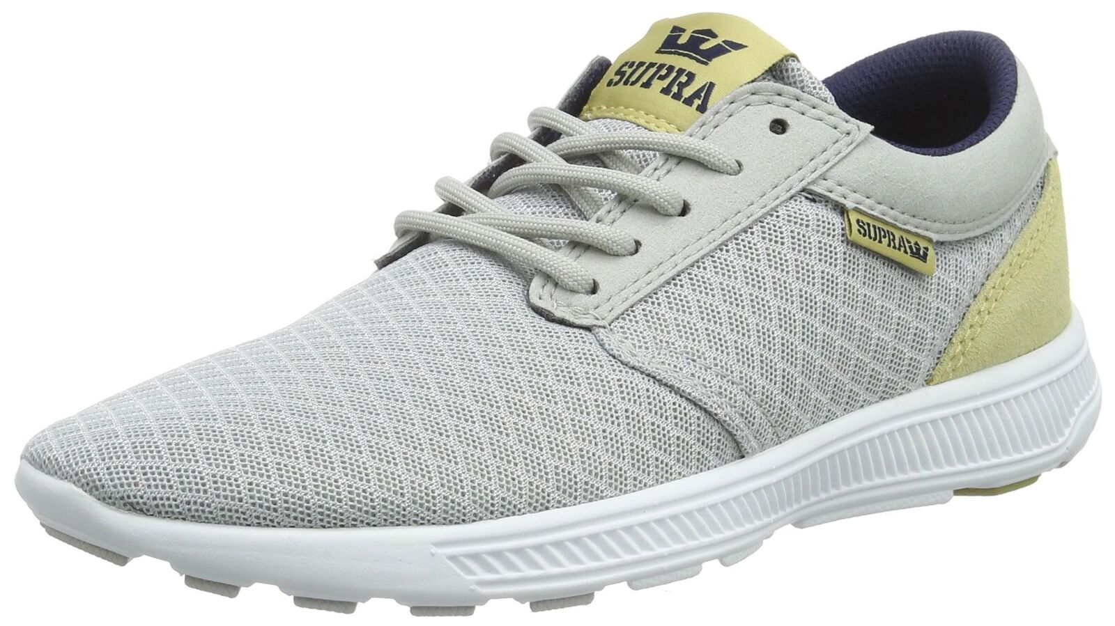 Supra Men's Hammer Run Grey purple Hemp White Sneaker Men's 9.5, Women's 11 D...