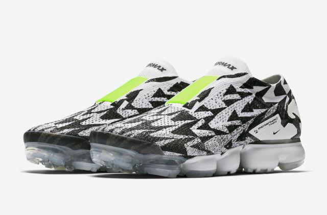 men's nike air vapormax flyknit moc 2 running shoes black