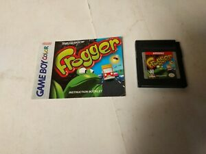 Frogger-Nintendo-Game-Boy-Color-1998-Gameboy-with-manual