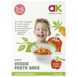 Annabel Karmel Meals Vegetable And Pasta Bake 200g