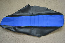 FLU DESIGNS PLEATED GRIPPER SEAT COVER YAMAHA YZ250 YZ125 2002-2016