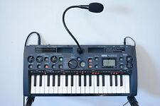 Korg MS1 microSAMPLER Sampling Keyboard w/ box, mic, power supply