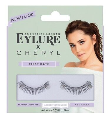 07c46c15fcb NEW EYLURE FALSE EYELASHES NEW LOOK X CHERYL FIRST DATE | eBay