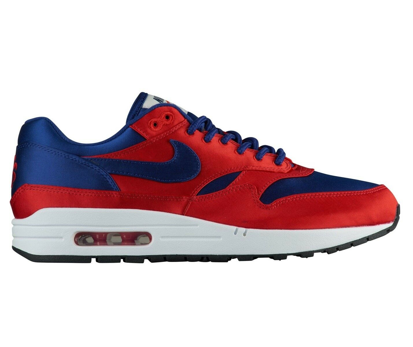 Nike Air Max 1 SE Satin Pack Mens AO1021-600 Red Royal Running shoes Size 8.5
