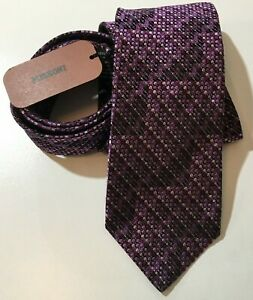 MIssoni-Tie-Necktie-Purple-Geometric-Dots-100-Silk-58-034-x-3-1-4-034-Made-In-Italy
