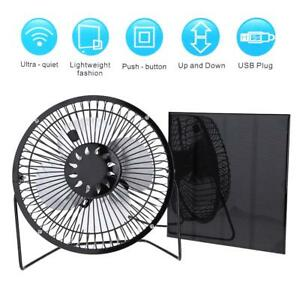 4 5w 6v Solar Panel 6 Quot Usb Cooling Fan Home Car Outdoor