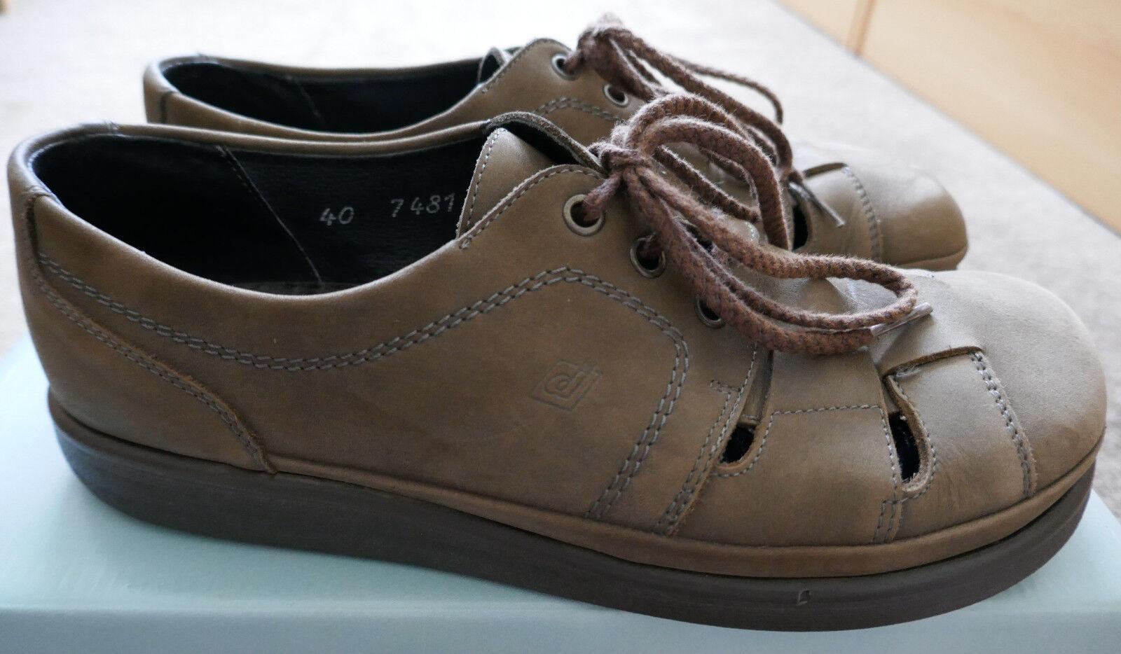 Dansko Comfort 40 Herren Sommer-Schuhe / Gr. 40 Comfort / Echtleder / braun / NP 637de3