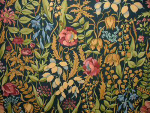 Cotswold-Jewel-Cotton-Curtain-Upholstery-Quilting-Fabric-William-Morris-Style