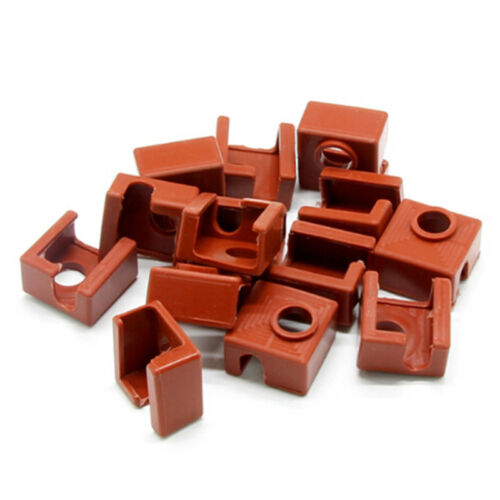 Silicone sock mk7//8//9 reprap 3D printer hotend cover case heate block 20*20WTUS