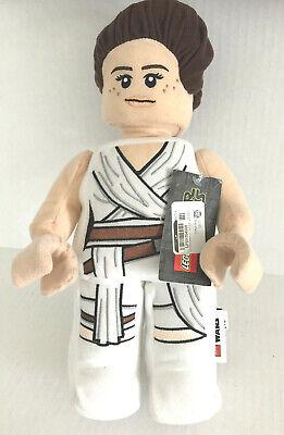 "Disney Lego Star Wars Rey Plush 13.5/"" Inch Manhattan Toy Company New with Tags"