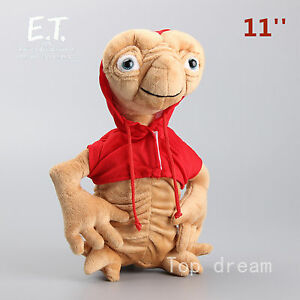 Cartoon-E-T-Extra-Terrestrial-Alien-Plush-Soft-Toy-Stuffed-Doll-11-039-039-Big-Teddy