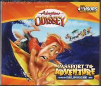 Adventures In Odyssey 19 Passport To Adventure 4 Cd Children's Audio Set