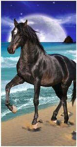 30x60-034-Big-Moon-amp-Horse-Premium-Velour-Beach-Towel