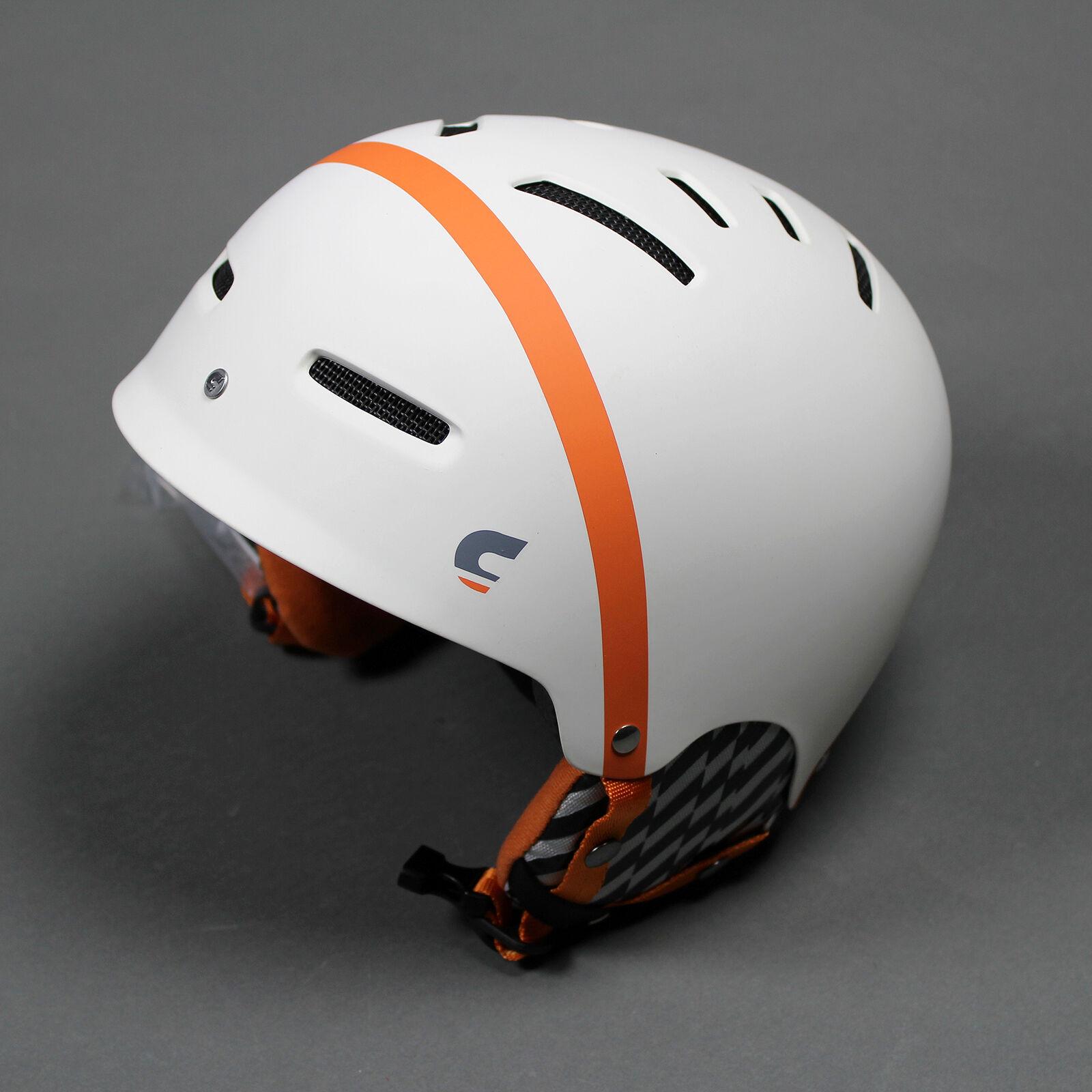 Carrera X-01 Skiing Snowboarding Helmet White Matte (New) Lists For   99.99