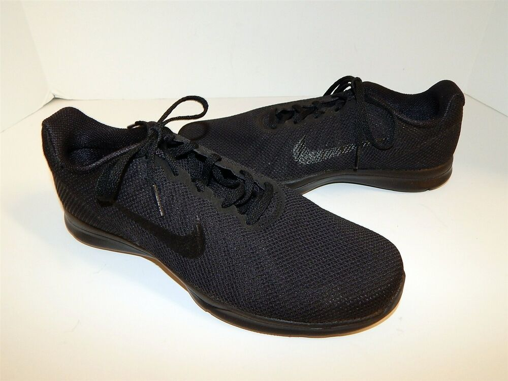 New Nike noir Mesh TR 6 Lace Up Sneakers 9 M