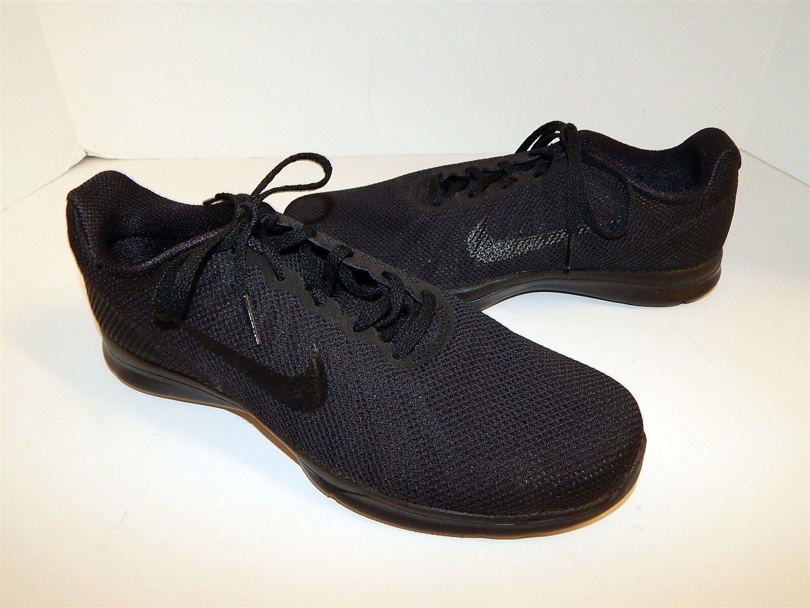 Nuevo Nike Negro malla de 9 encaje TR 6 tenis 9 de M 29ce0f