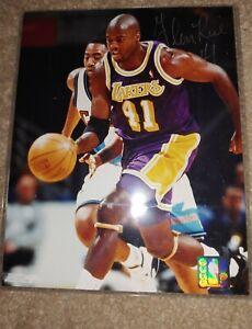 Glen Rice #41 Autograph 8x10 Photo Photograph LA Lakers Los Angeles 41