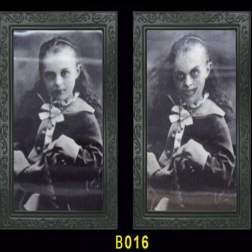 Holographique Change photo portrait Halloween Scene Setter Décoration
