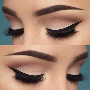 6in1 Eyeliner Schablone Lidstrich Smokey Cat Eye Liner Augen Make Up