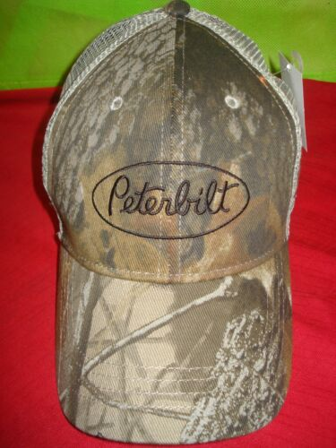 Realtree Sunglasses Camo Front Mesh Back Truckers Hat Peterbil Hat