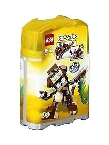"LEGO Creator 4916 /""Mini Animals/"" NIP New Factory Sealed 3 in 1-77 Pieces"