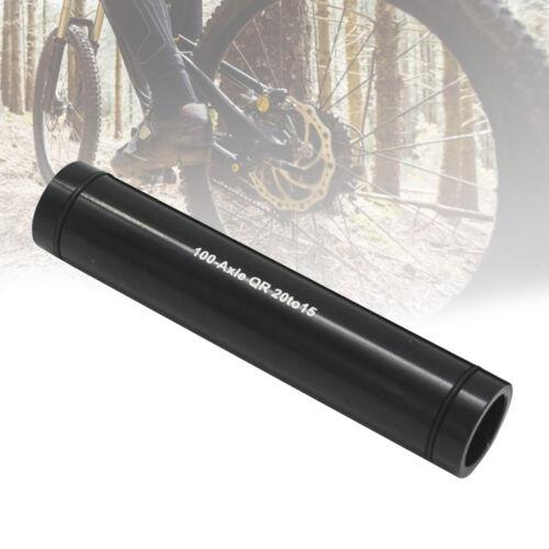 Durable Mountain Bike 20mm 15mm Aluminum Alloy Barrel Shaft for 100mm//110mm Fork