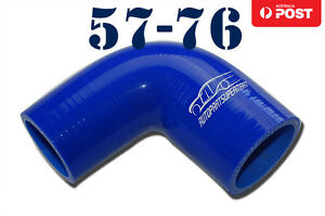 4-Ply-Silicone-90-Degree-Reducer-Elbow-Joiner-Hose-Pipe-57mm-76mm-2-25-034-3-034