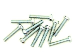 Zylinderschrauben mit Schlitz DIN 84 4.8 Stahl galvanisch verzinkt M 5