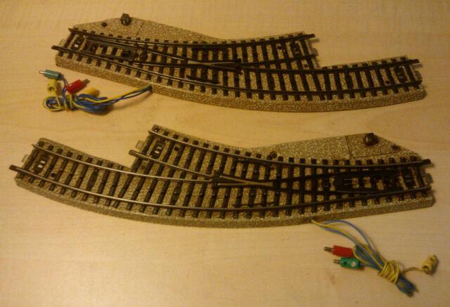 Märklin H0 5140 M Track Electromagnetic Arc Soft Pair Tested